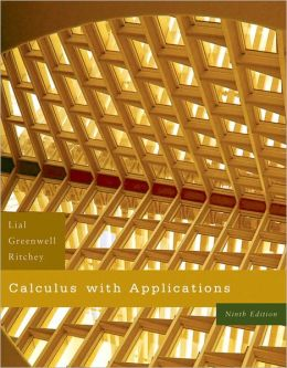 Calculus with Applications Value Pack (includes MathXL 12-month Student Access Kit & Student's Solutions Manual for Calculus with Applications)