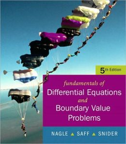Fundamentals of Differential Equations with Boundary Value Problems with IDE CD (Saleable Package)