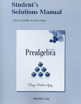Student Solutions Manual (Standalone) for Prealgebra