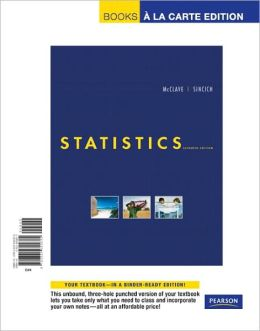 Statistics, Books a la Carte Edition