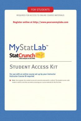 MyStatLab Student Access Kit (Standalone)