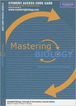 MasteringBiology -- Standalone Access Card -- for Campbell Biology: Concepts & Connections