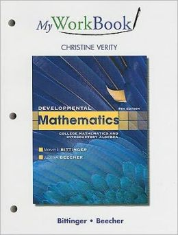 MyWorkBook for Developmental Mathematics
