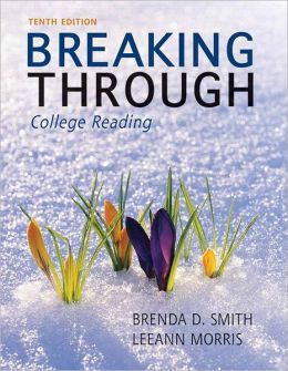 Breaking Through: College Reading (with NEW MyReadingLab with Pearson eText Student Access Code Card)