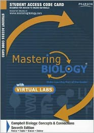 MasteringBiology with MasteringBiology Virtual Lab Full Suite -- Standalone Access Card -- for Campbell Biology: Concepts & Connections