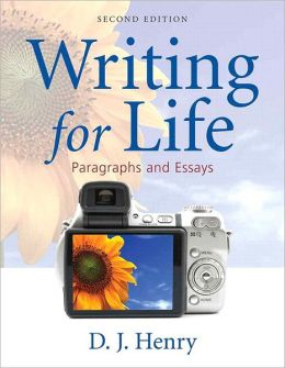 Writing for Life: Paragraphs and Essays (with NEW MyWritingLab with Pearson eText Student Access Code Card)