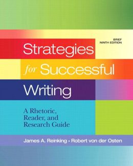 Strategies for Successful Writing: A Rhetoric, Reader and Research Guide with NEW MyCompLab