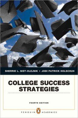 College Success Strategies Plus NEW MyStudentSuccessLab 2012 Update