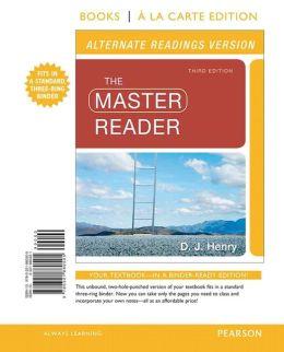 The Master Reader, Alternate Edition, Books a La Carte Edition