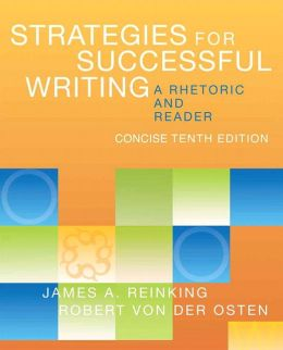 Strategies for Successful Writing, Concise Edition: A Rhetoric and Reader with NEW MyCompLab with eText -- Access Card Package