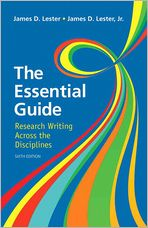Essential Guide: Research Writing Plus NEW MyCompLab