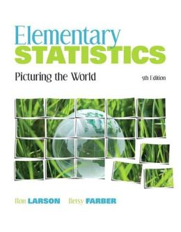 Elementary Statistics: Picturing the World Plus MyStatLab Student Access Code Card