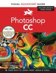 Book Cover Image. Title: Photoshop CC:  Visual QuickStart Guide B&N edition, Author: Peter Lourekas