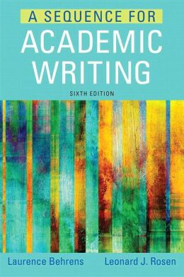 A Sequence for Academic Writing PLUS NEW MyWritingLab with Pearson eText -- Access Card Package