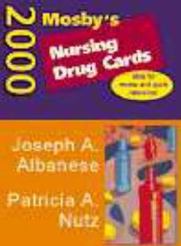 Mosby's Nursing Drug Cards 2000