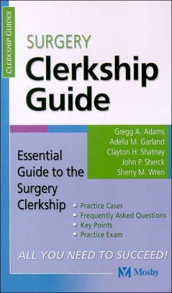 Surgery Clerkship Guide