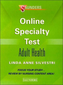 Saunders Online Specialty Test Adult Health