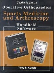 Techniques in Operative Orthopaedics: Sports Medicine & Arthroscopy, CD-ROM PDA Software