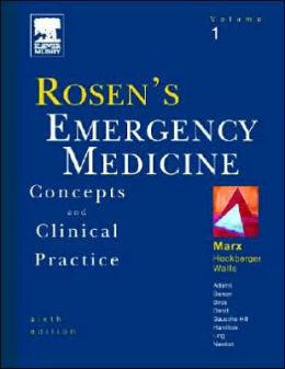 Rosen's Emergency Medicine: Concepts and Clinical Practice, 3-Volume Set