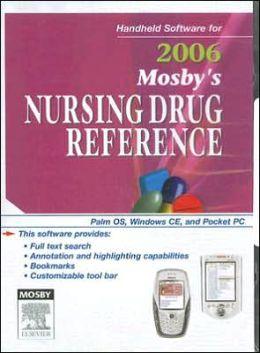 Mosby's 2006 Nursing Drug Reference-CD-ROM PDA Software