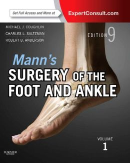 Mann?s Surgery of the Foot and Ankle: Expert Consult Premium Edition, 2-Volume Set