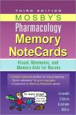 Book Cover Image. Title: Mosby's Pharmacology Memory NoteCards:  Visual, Mnemonic, and Memory Aids for Nurses, Author: JoAnn Zerwekh