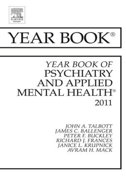 Year Book of Psychiatry and Applied Mental Health 2011
