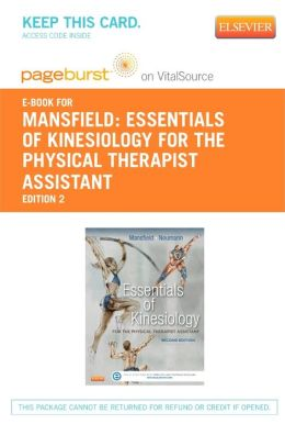 Essentials of Kinesiology for the Physical Therapist Assistant - Pageburst E-Book on VitalSource (Retail Access Card)