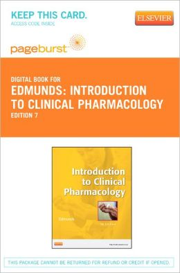 Introduction to Clinical Pharmacology - Pageburst Digital Book (Retail Access Card)