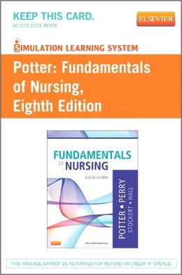 Simulation Learning System for Potter: Fundamentals of Nursing (User Guide and Access Code)