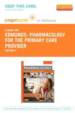 Pharmacology for the Primary Care Provider - Pageburst E-Book on VitalSource (Retail Access Card)