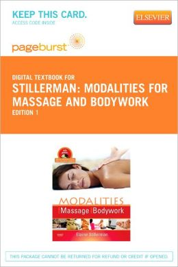 Modalities for Massage and Bodywork - Pageburst Digital Book (Retail Access Card)