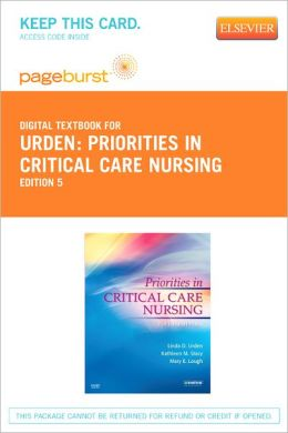 Priorities in Critical Care Nursing - Pageburst Digital Book (Retail Access Card)
