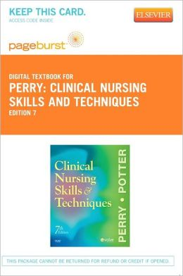 Clinical Nursing Skills and Techniques - Pageburst Digital Book (Retail Access Card)