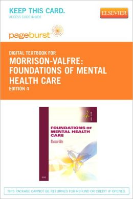 Foundations of Mental Health Care - Pageburst Digital Book (Retail Access Card)