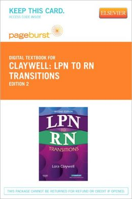 LPN to RN Transitions - Pageburst Digital Book (Retail Access Card)