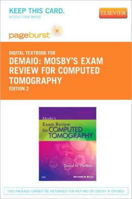 Mosby's Exam Review for Computed Tomography - Pageburst Digital Book (Retail Access Card)