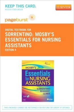 Mosby's Essentials for Nursing Assistants - Pageburst Digital Book (Retail Access Card)