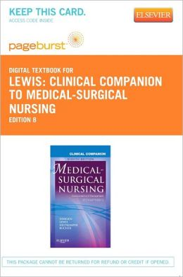 Clinical Companion to Medical-Surgical Nursing - Pageburst Digital Book (Retail Access Card)