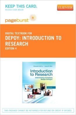 Introduction to Research - Pageburst Digital Book (Retail Access Card): Understanding and Applying Multiple Strategies