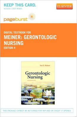 Gerontologic Nursing - Pageburst Digital Book (Retail Access Card)