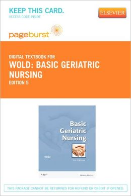 Basic Geriatric Nursing - Pageburst Digital Book (Retail Access Card)