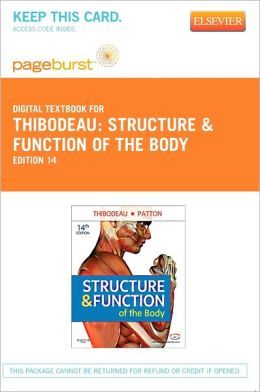 Structure & Function of the Body - Pageburst Digital Book (Retail Access Card)