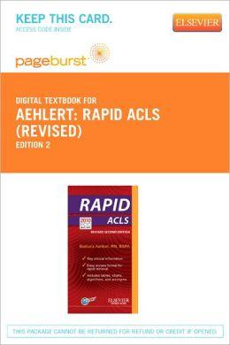 RAPID ACLS (Revised Reprint) - Pageburst Digital Book (Retail Access Card)