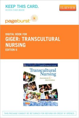 Transcultural Nursing - Pageburst Digital Book (Retail Access Card): Assessment and Intervention