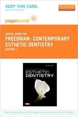 Contemporary Esthetic Dentistry - Pageburst Digital Book (Retail Access Card)