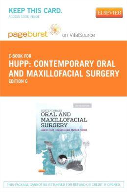 Contemporary Oral and Maxillofacial Surgery - Pageburst E-Book on VitalSource (Retail Access Card)
