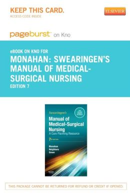 Manual of Medical-Surgical Nursing Care - Pageburst E-Book on Kno (Retail Access Card): A Care Planning Resource