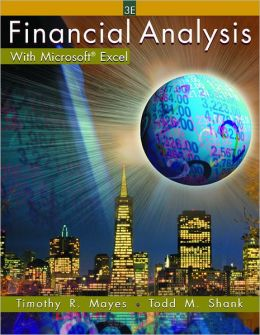 Financial Analysis with Microsoft Excel and Student Resource CD-ROM