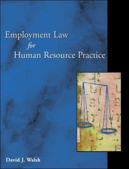 Employment Law and Human Resource Practice